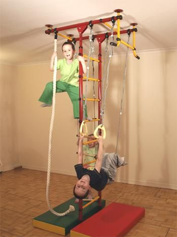 детский спортивный уголок для квартиры