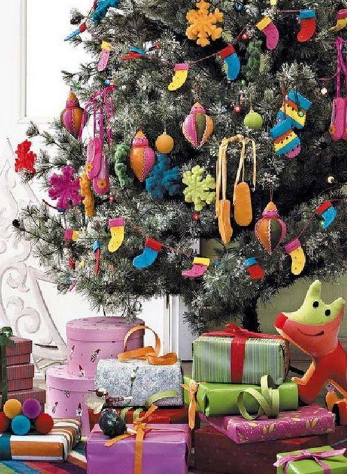 Новогодняя елка 2014 в детской комнате